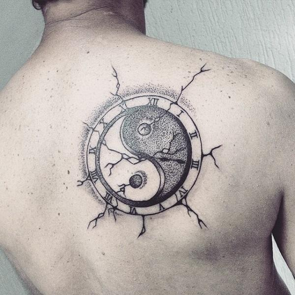 Yin yang symbol tattoo meaning