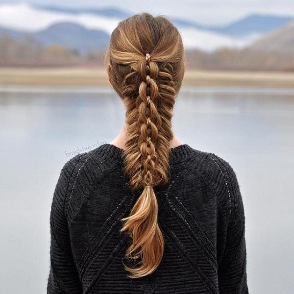 braided hairstyle 1 40 ADORABLE BRAIDED HAIRSTYLES YOU WILL LOVE
