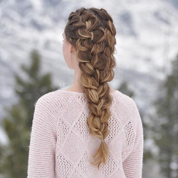 braided hairstyle 13 40 ADORABLE BRAIDED HAIRSTYLES YOU WILL LOVE