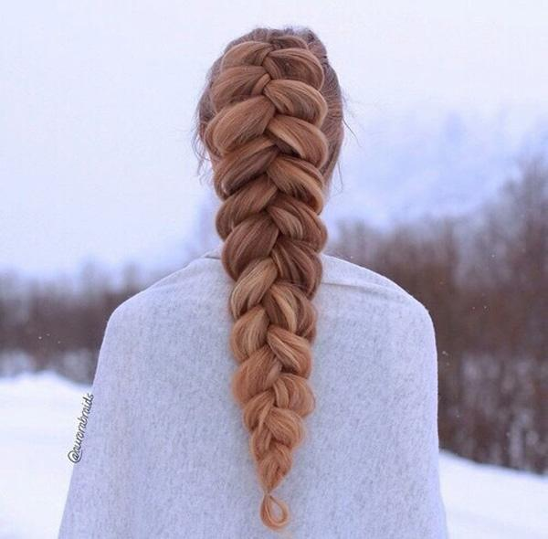 braided hairstyle 18 40 ADORABLE BRAIDED HAIRSTYLES YOU WILL LOVE