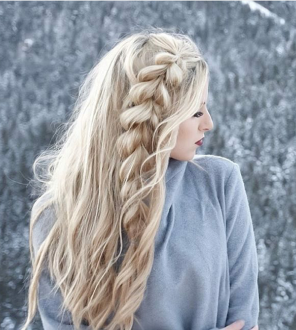 braided hairstyle 19 40 ADORABLE BRAIDED HAIRSTYLES YOU WILL LOVE