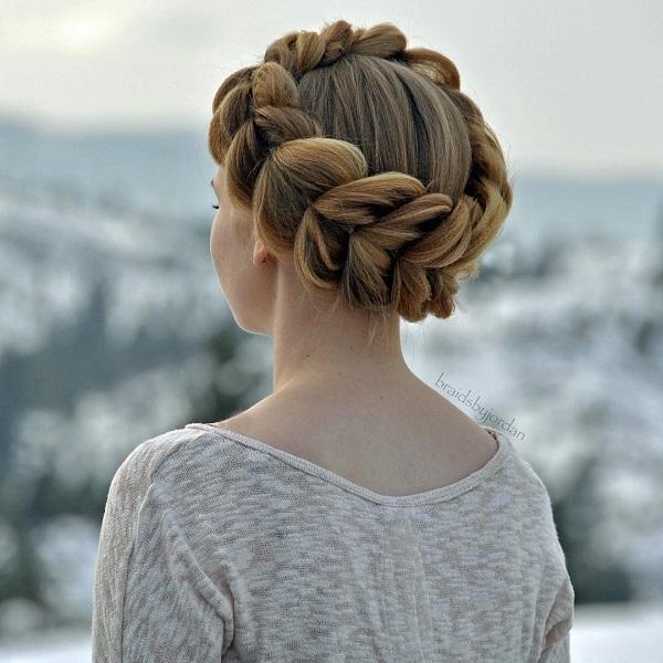 braided hairstyle 22 40 ADORABLE BRAIDED HAIRSTYLES YOU WILL LOVE