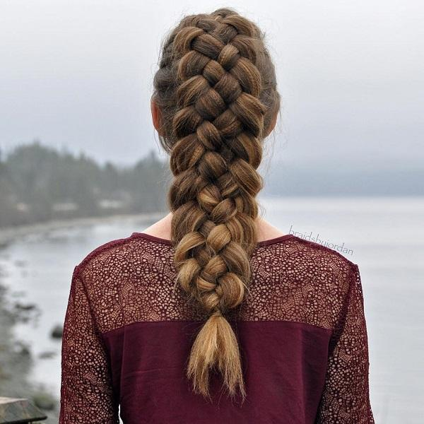 braided hairstyle 23 40 ADORABLE BRAIDED HAIRSTYLES YOU WILL LOVE