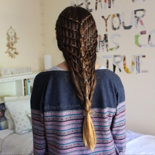 braided hairstyle 24 40 ADORABLE BRAIDED HAIRSTYLES YOU WILL LOVE
