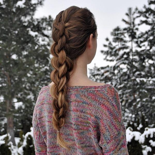 braided hairstyle 25 40 ADORABLE BRAIDED HAIRSTYLES YOU WILL LOVE
