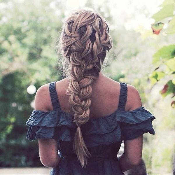 braided hairstyle 31 40 ADORABLE BRAIDED HAIRSTYLES YOU WILL LOVE