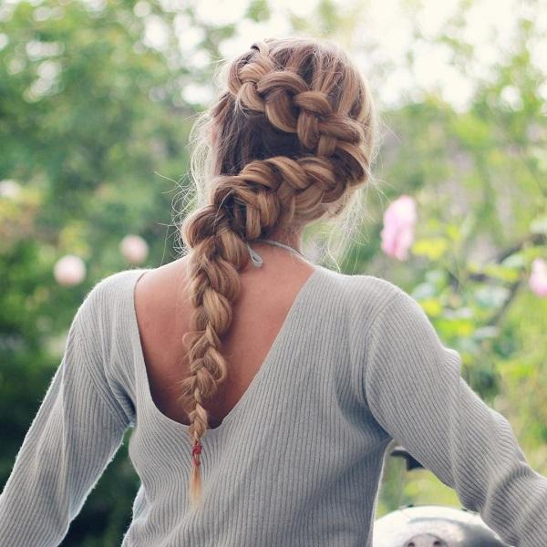 braided hairstyle 33 40 ADORABLE BRAIDED HAIRSTYLES YOU WILL LOVE