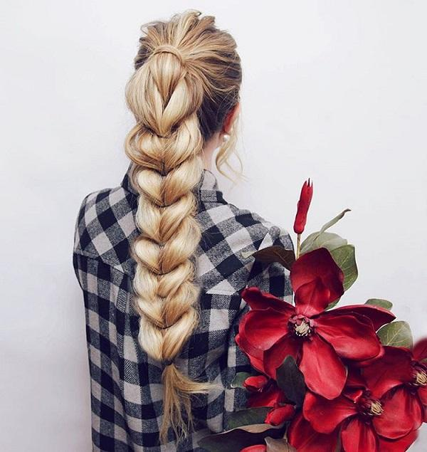 braided hairstyle 38 40 ADORABLE BRAIDED HAIRSTYLES YOU WILL LOVE