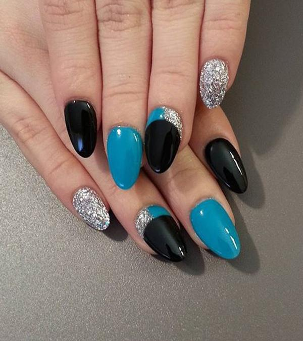 crescent moon nails-10