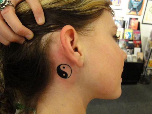 yin yang ear tattoo-38
