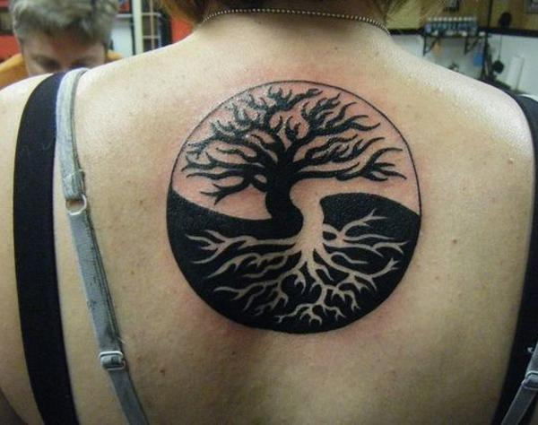 tattoo designs yin yang symbol