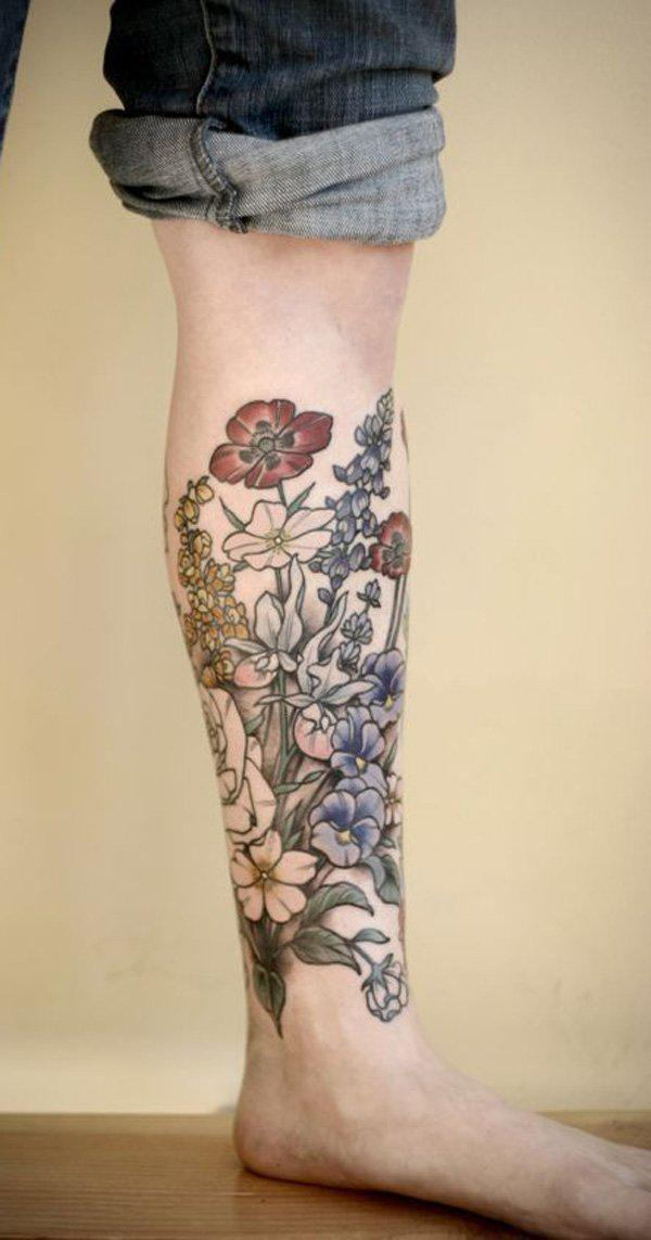 Calf Tattoo-52