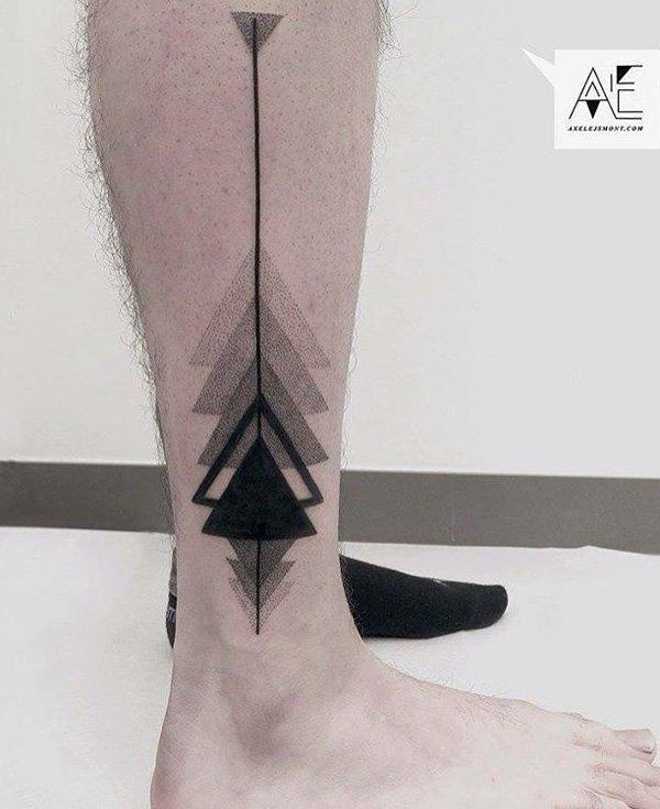 Calf tattoo-25
