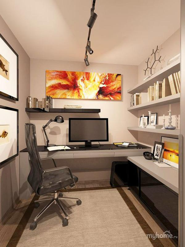 45 inspirational home office ideas art and design - Workspace ideas small spaces ideas ...