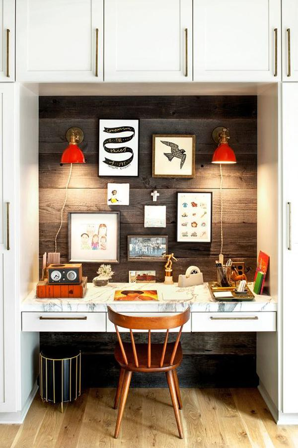 Brilliant 45 Inspirational Home Office Ideas Art And Design Largest Home Design Picture Inspirations Pitcheantrous