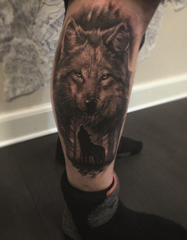 Wolf Calf Tattoo-7