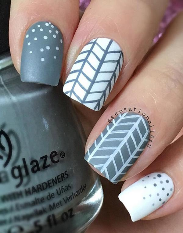 chevron nail art-10