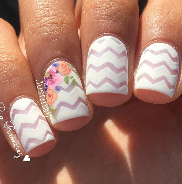 chevron nail art-12