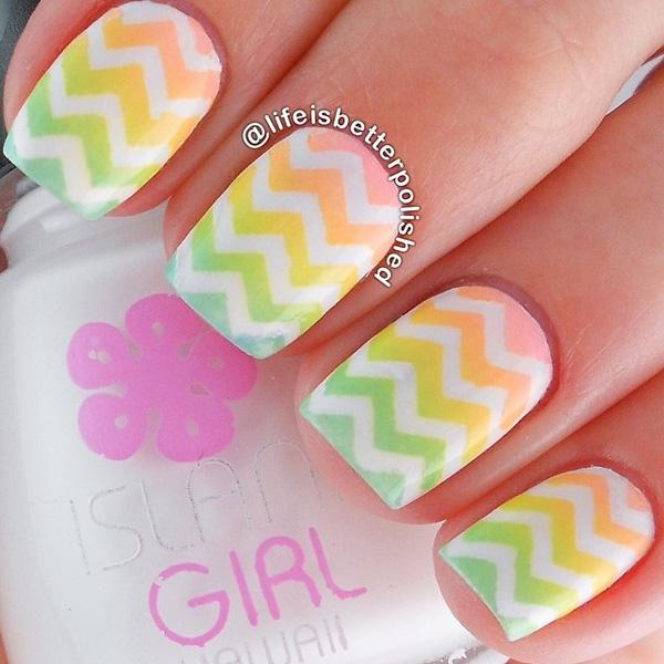 chevron nail art-18