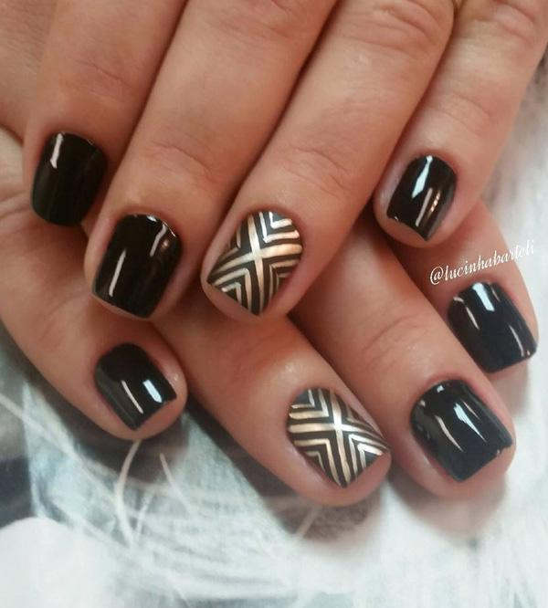chevron nail art-20