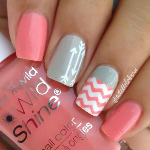 chevron nail art-25