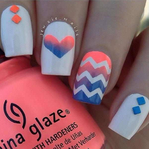 chevron nail art-27