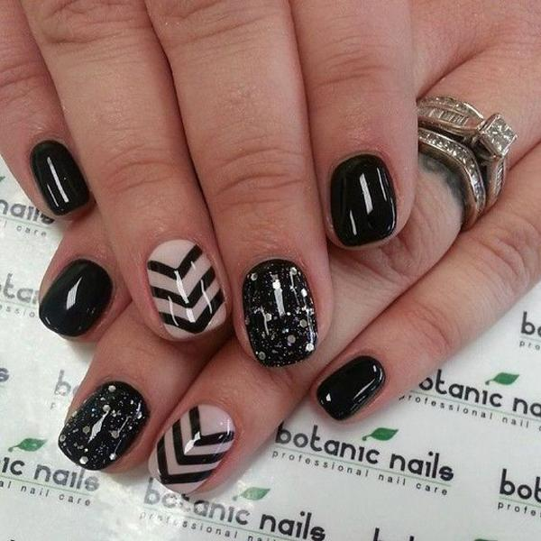 chevron nail art-29