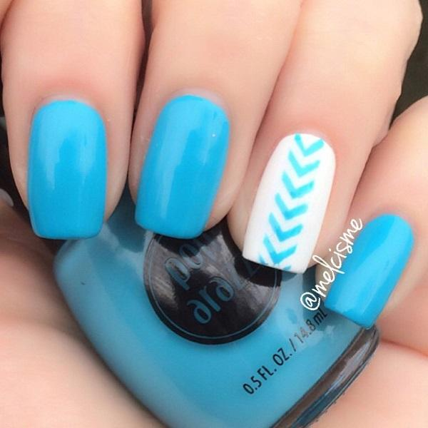 chevron nail art-3