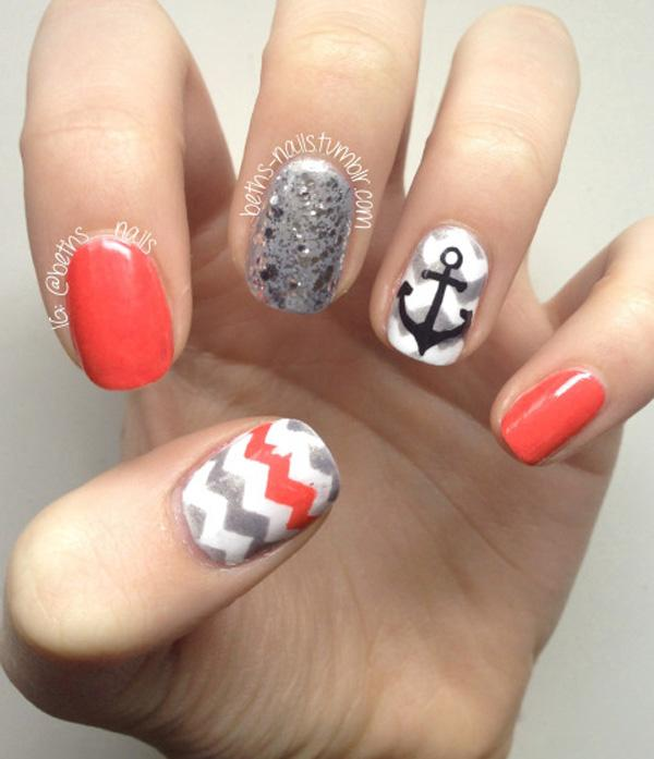 chevron nail art-30