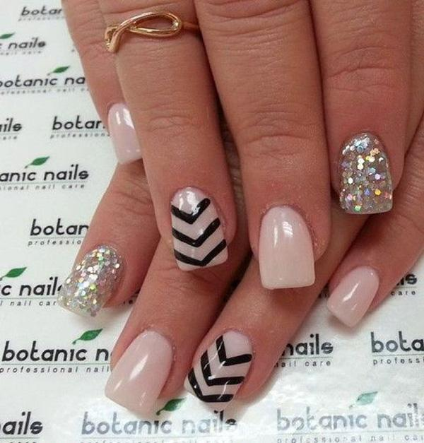 chevron nail art-34
