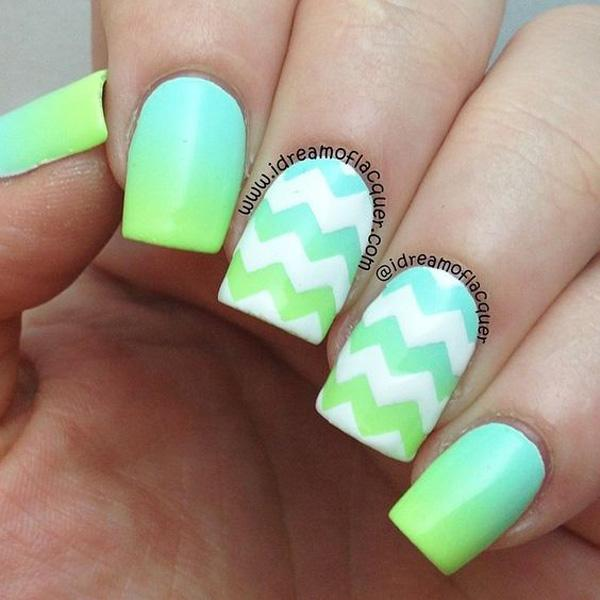 chevron nail art-40
