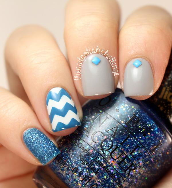 chevron nail art-41