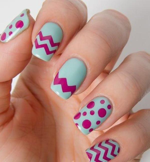 chevron nail art-43