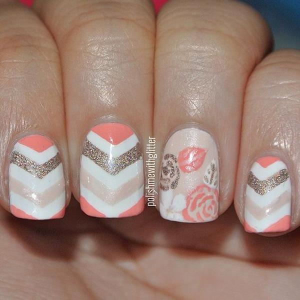 chevron nail art-44