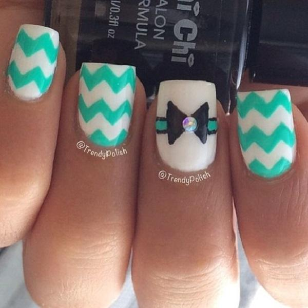 chevron nail art-46