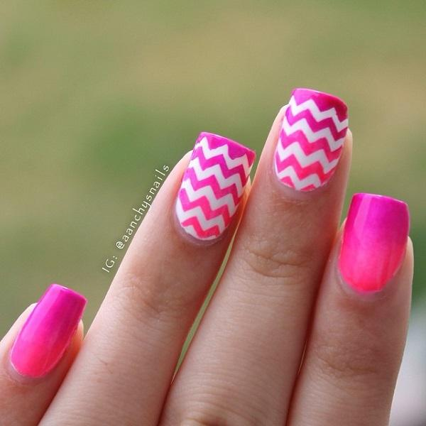 chevron nail art-9