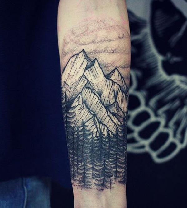forest and mountain tattoo-38