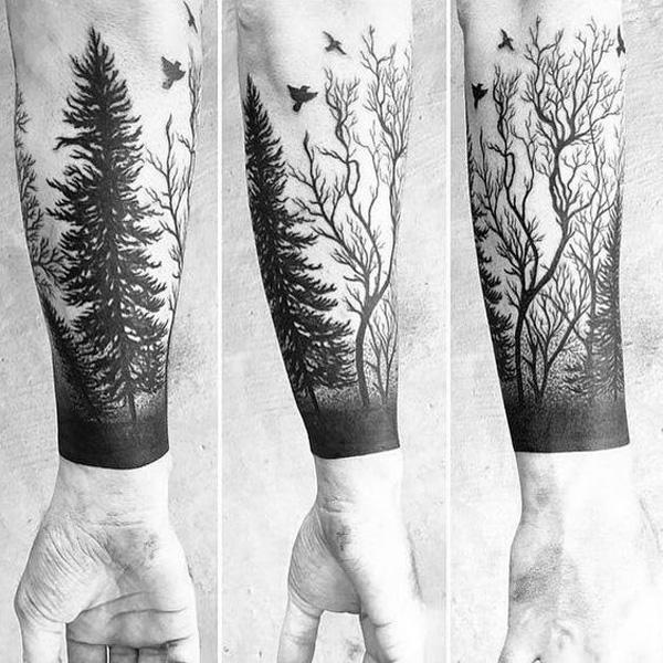 forest tattoo-42