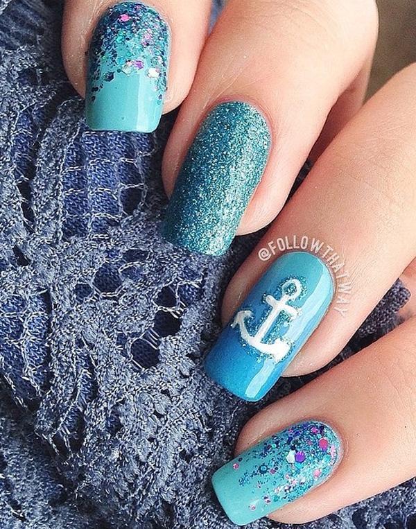 green nail-13