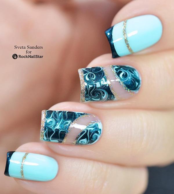 green nail-14