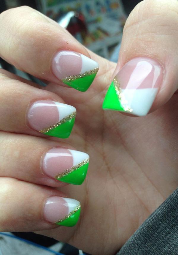 green nail-17