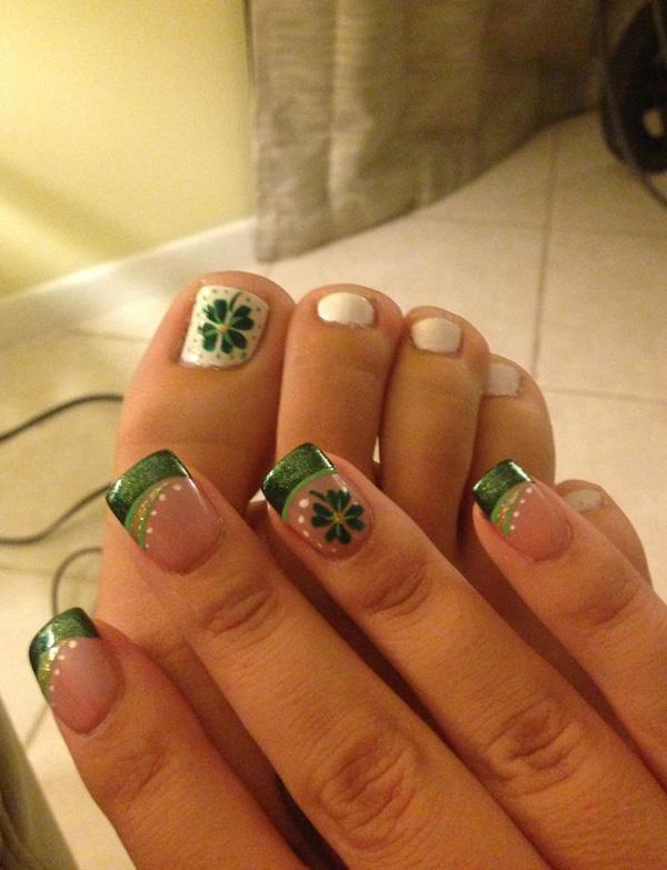 green nail-22