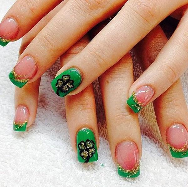green nail-23