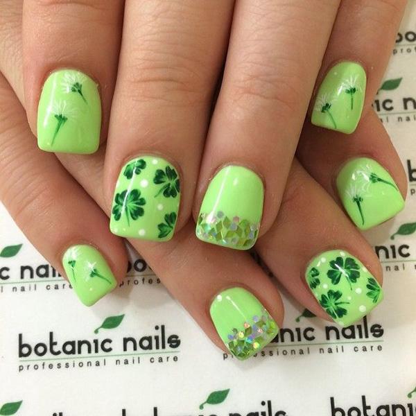 green nail-24