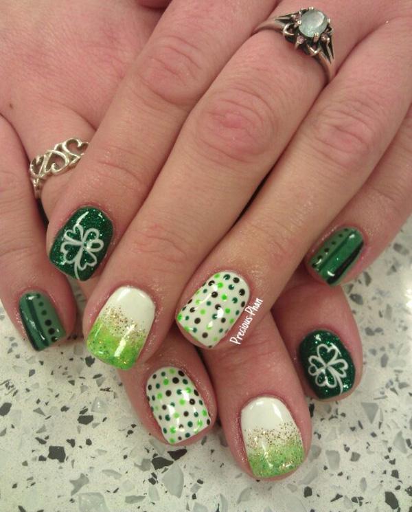 green nail-25