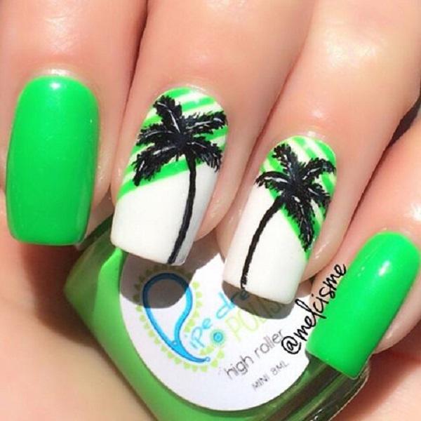 green nail-28