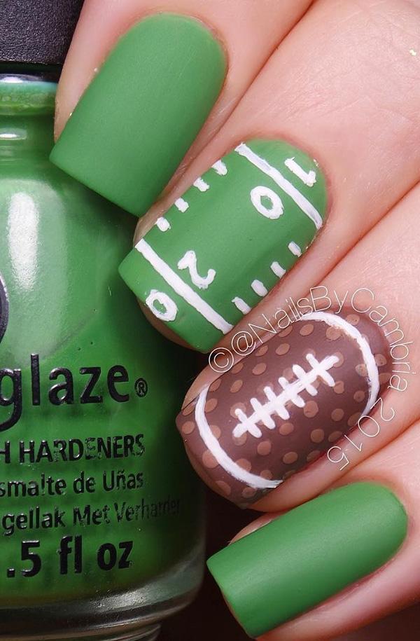 green nail-3