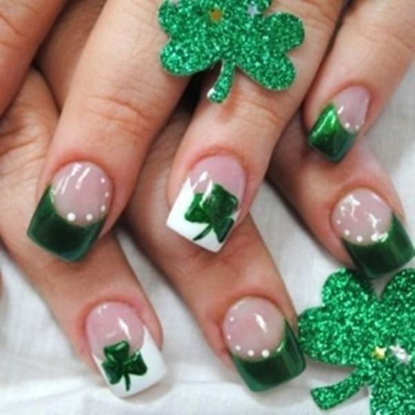 green nail-30