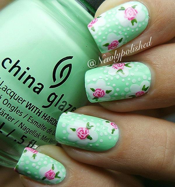 green nail-31