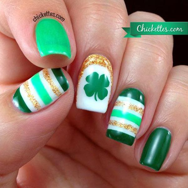 green nail-34
